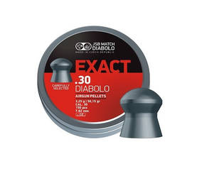 Exact .30 Diabolo 3,25g 7,62mm 150kpl - Ilma-ase luodit 6,35mm - 303255015762150 - 1
