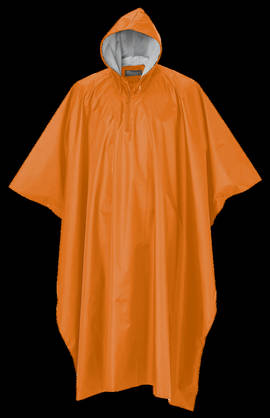 Sadeviitta Poncho Rainfall Orange - Sadeasusteet - 7331090131354 - 1