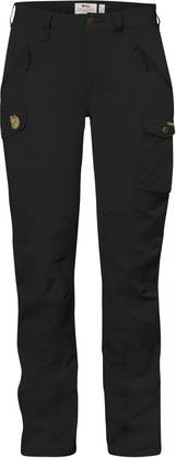 Fjällräven Nikka Trousers Curved Black - Housut - 89638 - 1