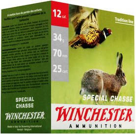 Special Chasse 12/70 34g 2,9mm 25kpl - 12/70 kaliiperi - 634957819929 - 1